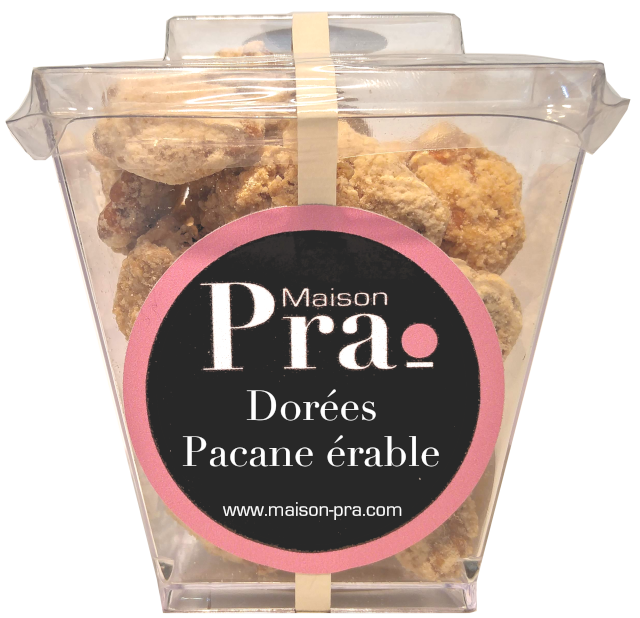 Nos produits - Maison Pra - Pralines Pacane Érable