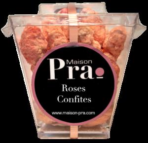 Nos produits - Maison Pra - Pralines Roses Confites