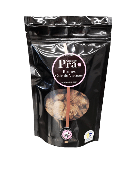 Nos produits - Maison Pra - Praline Café du Vietnam