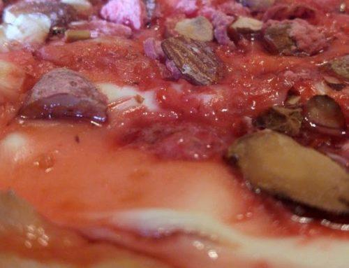 Tarte Bressane aux pralines rouges