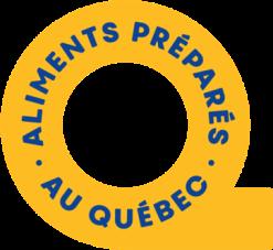 Aliments préparés au Québec